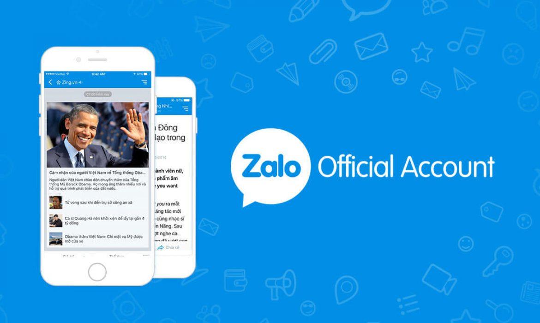 Quản lý tài khoản Zalo Ads