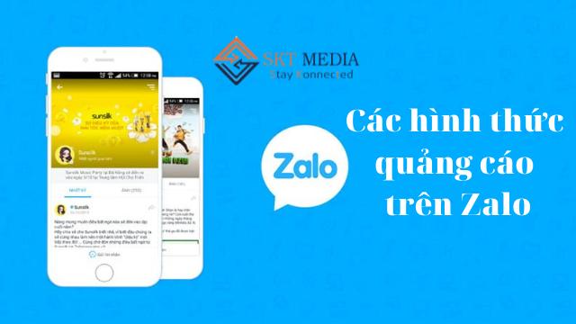 Các hình thức quảng cáo trên Zalo
