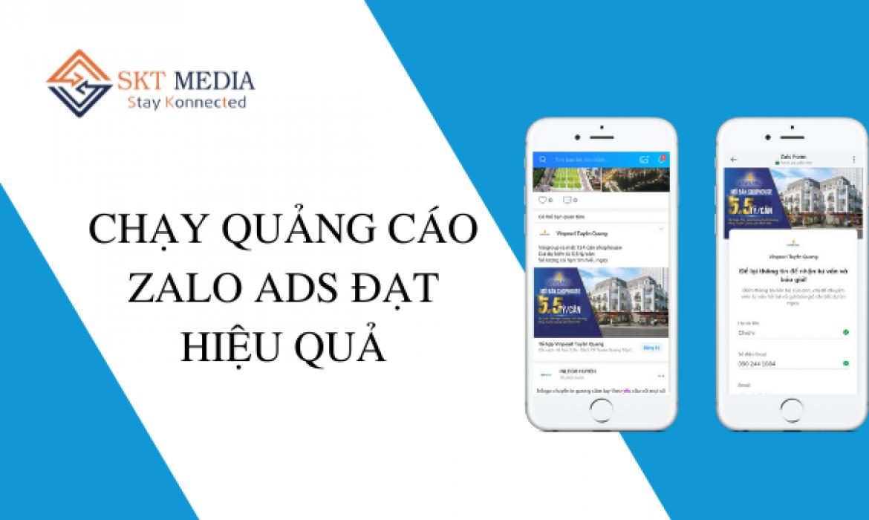 chạy quảng cáo zalo ads