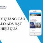 Hướng dẫn chạy quảng cáo zalo đạt hiệu quả tốt nhất